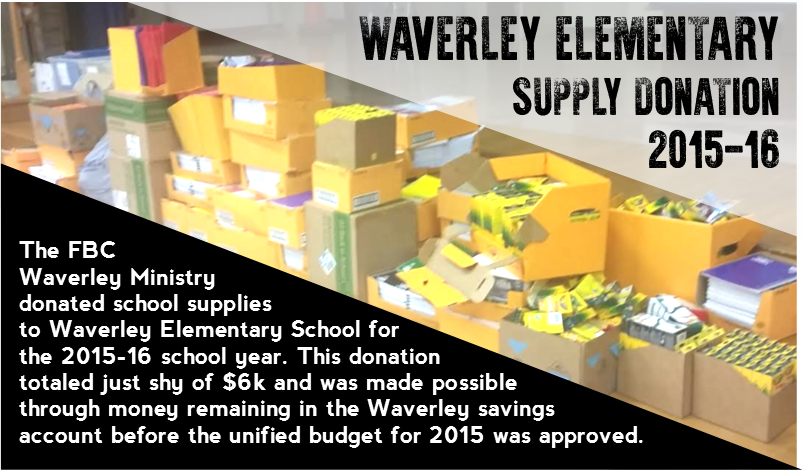 Waverley Supply Donation